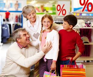Mit Spass groß einkaufen - in unserer Einkaufspassage