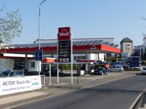 Tankstelle und Waschstraße